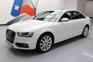 2014 Audi A4 2.0T PREMIUM AWD S-LINE SUNROOF XENONS Photo