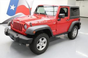 2012 Jeep Wrangler RUBICON 4X4 6-SPD HARDTOP ALLOYS