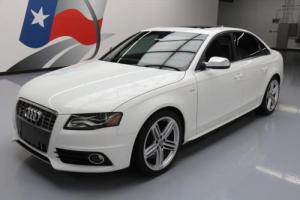 2012 Audi S4 3.0T QUATTRO PRESTIGE AWD SUNROOF NAV