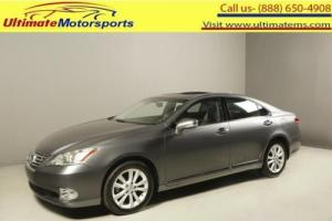 2012 Lexus ES 2012 350 SUNROOF LEATHER HEAT/COOL SEATS WOOD