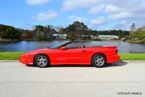 1996 Pontiac Firebird Trans Am 2dr Convertible