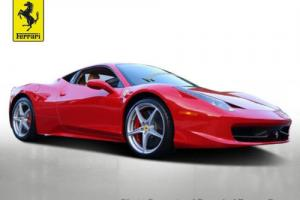 2012 Ferrari 458 2dr Coupe