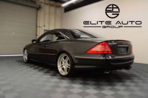 2001 Mercedes-Benz CL-Class CL 600 2dr Coupe Coupe 2-Door Automatic 5-Speed