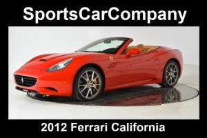 2012 Ferrari California 2dr Convertible