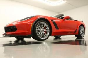 2017 Chevrolet Corvette MSRP$99755 Z06 2LZ GPS Supercharged Leather Red