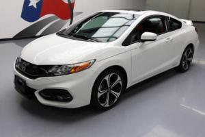 2015 Honda Civic SI COUPE 6-SPD SUNROOF REAR CAM