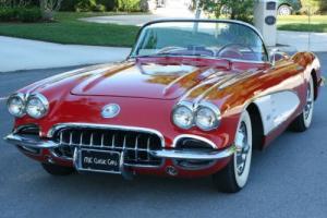 1960 Chevrolet Corvette TWO TOP ROADSTER - DUAL QUADS