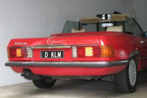 MERC 450SL, convertible, 1973, 146,000m - soft (new original) and hard top Photo