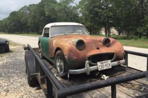 1960 Austin Healey Sprite Bug eye