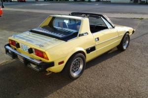 1978 Fiat X-1/9