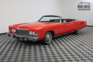 1974 Cadillac Eldorado VEGAS SHOW CAR LOW MILES Photo