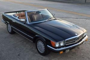 1980 Mercedes-Benz SL-Class 500SL in 040 Black* original factory paint