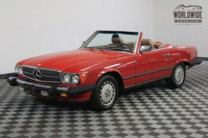 1987 Mercedes-Benz SL-Class 86K ACTUAL MILES ON TITLE BOTH TOPS