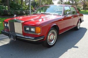1981 Rolls-Royce Silver Spirit/Spur/Dawn SILVER SPIRIT Photo
