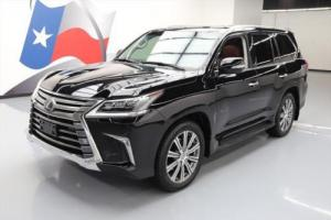 2016 Lexus LX AWD LUXURY SUNROOF NAV DVD HUD 21'S