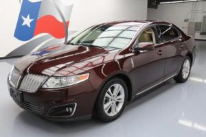 2010 Lincoln MKS CLIMATE LEATHER ALLOY WHEELS
