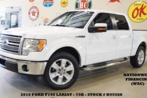 2010 Ford F-150 Lariat 4X2 SUNROOF,NAV,HTD/COOL LTH,20'S,79K,WE FINANCE!