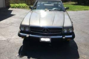 1984 Mercedes-Benz SL-Class Mercedes benz 380sl