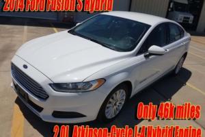 2014 Ford Fusion S Hybrid Sedan