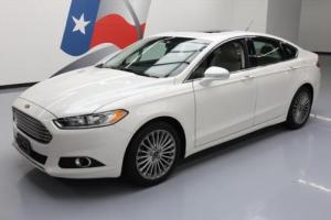 2015 Ford Fusion TITANIUM ECOBOOST SUNROOF LEATHER