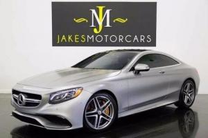 2015 Mercedes-Benz S-Class S63 AMG COUPE...RARE EDITION 1 ($198K MSRP!)