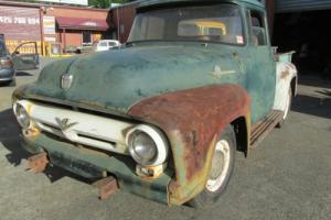 FORD 1956 F100 RHD F SERIES TRUCK UTE PICKUP RATROD 56 100 STEPSIDE