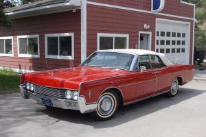1966 Lincoln Continental Leather | eBay Photo