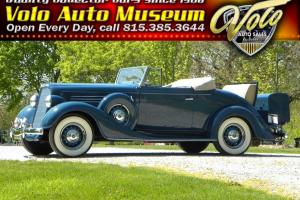 1935 Buick 46 C Special Convertible Coupe