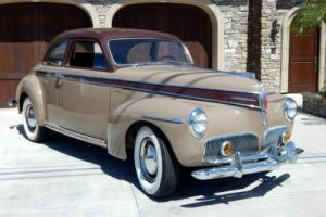 1941 Studebaker Commander Coupe Solid Windshield - West Coast Car
