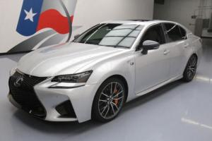 2016 Lexus GS F 467HP V8 SUNROOF NAV CLIMATE LEATHER