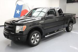 2014 Ford F-150 STX SUPERCAB 6-PASS SIDE STEPS