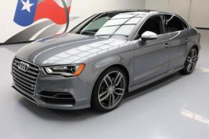 2016 Audi S3 2.0T QUATTRO PREM PLUS AWD SUNROOF NAV