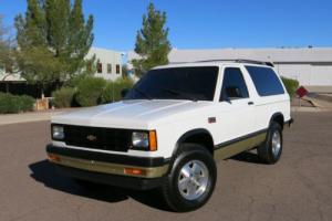 1987 Chevrolet Blazer S-10  2 DOOR