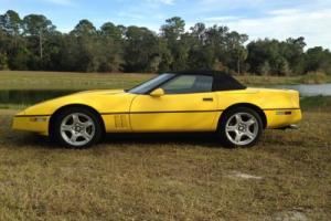 1986 Chevrolet Corvette Indy Pace Car