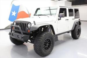 2012 Jeep Wrangler SPORT 4X4 6-SPD BLUETOOTH LIFTED