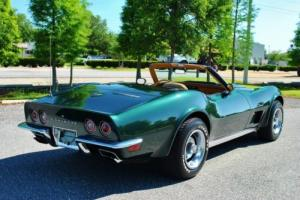 1973 Chevrolet Corvette Convertible 350 4-Speed Super Clean Drives Great!