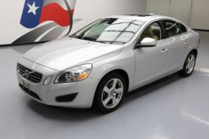 2012 Volvo S60 T5 HTD LEATHER SUNROOF CRUISE CTRL