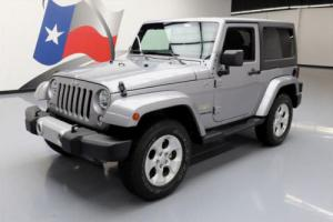 2015 Jeep Wrangler SAHARA 4X4 HARD TOP AUTOMATIC