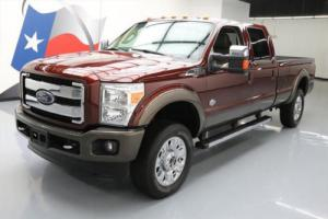 2015 Ford F-350 KING RANCH CREW 4X4 FX4 DIESEL NAV