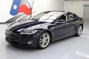 2014 Tesla Model S PANO ROOF NAV REAR CAM HTD SEATS!