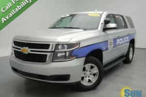 2016 Chevrolet Tahoe Police Pursuit Vehicle