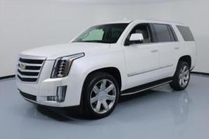 2016 Cadillac Escalade LUX SUNROOF NAV HUD 22'S