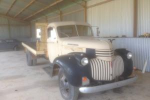 1947 Chevy Maple Leaf Truck
