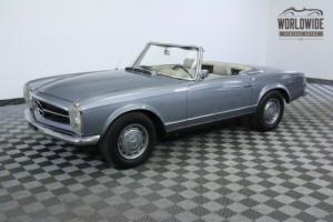 1965 Mercedes-Benz SL-Class CONVERTIBLE 4 SPEED MANUAL