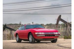 1970 Ferrari 356 GTB/4 DAYTONA BERLINETTA --
