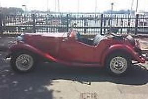 1951 MG T-Series TD