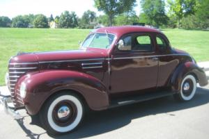 1939 Plymouth Business Coupe P8