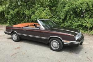 1982 Chrysler LeBaron