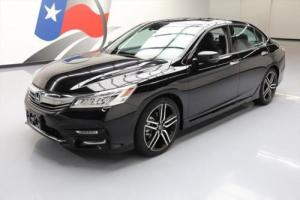 2016 Honda Accord TOURING SUNROOF HTD LEATHER NAV