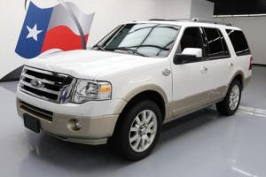 2012 Ford Expedition KING RANCH SUNROOF NAV DVD